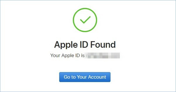 find back your apple id