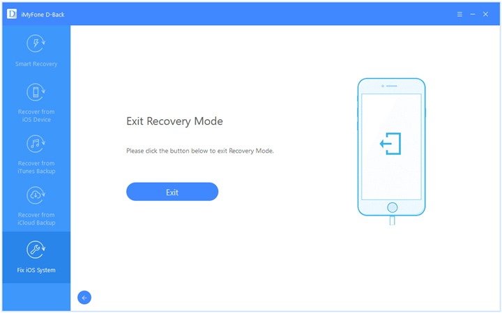 one click to exit Recovery mode