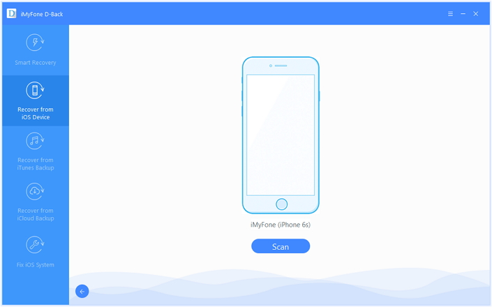 Connect with iPhone and Scan